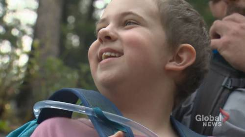 Calgary girl diagnosed with leukemia summiting mountains for kids cancer fundraiser | Watch News Videos Online