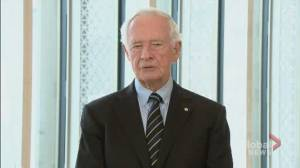 Former governor general Johnston remembers Prince Philip (01:59)