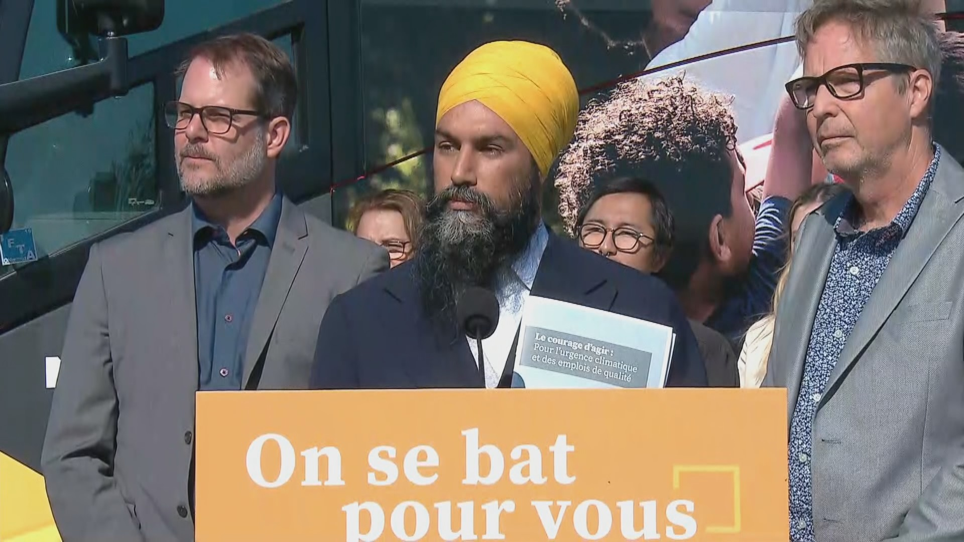 Federal Election 2019: NDP Leader Jagmeet Singh says he's opposed to Bill 21, but focused on tackling climate crisis, health care