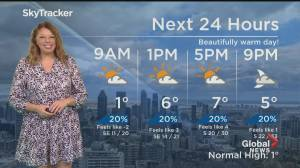 Global News Morning weather forecast: March 10, 2021 (01:33)