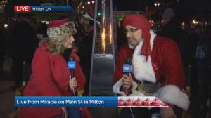 Miracle on Main Street in Milton