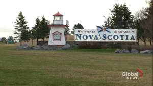 Nova Scotia opens its border to New Brunswick and the rest of Canada (01:56)