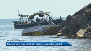 Investigation underway into a fatal boat crash in Toronto