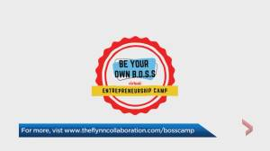 New camp teaches teens possibilities through entrepreneurship (04:13)