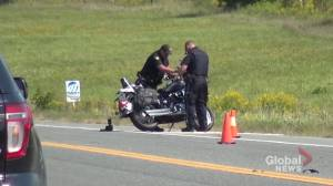 Motorcyclist seriously injured following collision on Hwy. 7 east of Peterborough (00:17)