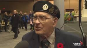 World War II veteran Henry Kriwokon marks Remembrance Day in Penticton