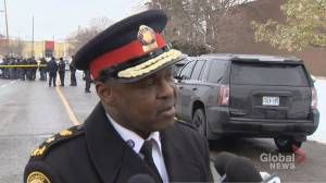 No description of suspects yet following shooting in Toronto's north end: police chief