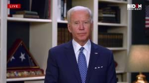 George Floyd death: 'No time for incendiary tweets,' Biden tells Trump