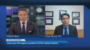 How one Ontario region avoided COVID-19 related deaths (05:10)