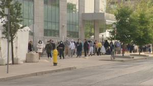COVID-19 test centres seeing delays, long wait times as numbers rise across GTA (01:37)
