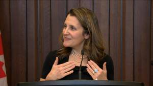 Freeland: It's in Canada's best interest to pass USMCA as soon as possible