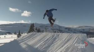 Behind the scenes of Sunshine Village's terrain parks (01:57)