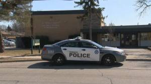 Police search for suspect in attempted abduction at Etobicoke school (01:25)
