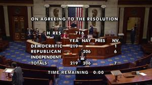 U.S. House votes for short-term debt ceiling fix, averting default (01:25)