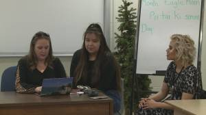 Cardston High School Students fundraise for healing garden and monument (02:00)