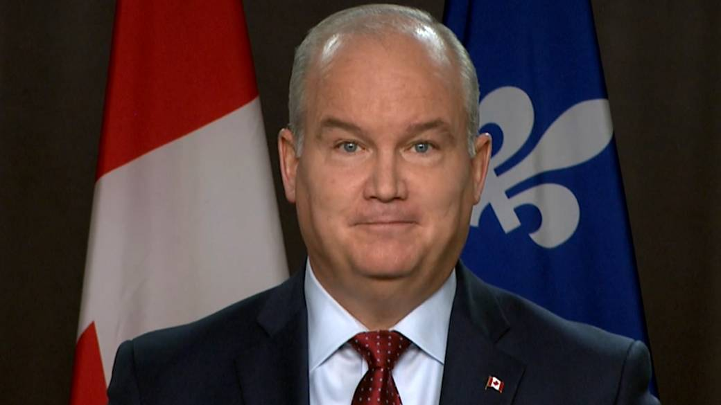 Click to play video 'Erin O'Toole says 'no greater threat' to Canada's interests than China'