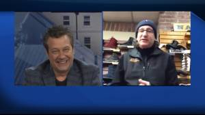 Michael Tenenhouse from A ONE Clothing has tips for warm winter gear (08:25)