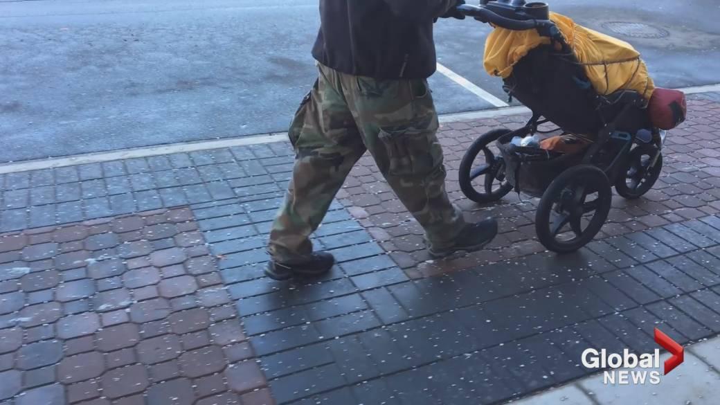 Okanagan stop for man walking across Canada for diabetes