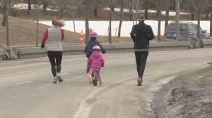 Adaptive lanes reopen in Calgary with several taking on a more permanent feel (02:02)