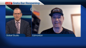 Edmonton's GRETA Bar prepares for reopening (04:18)