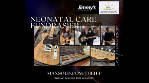 How bidding on a Tragically Hip signed guitar will benefit KGH's neonatal dept. (05:53)
