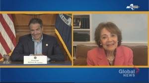 Coronavirus outbreak: NY Gov. Cuomo video chats with mother during COVID-19 briefing