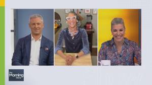 Chef Carla Hall on hosting and judging 'Halloween Baking Championship' (06:24)