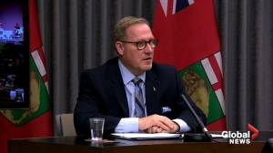 Coronavirus: 'Be kind' says Manitoba Finance Minister as province stops allowing sale of non-essential products (02:46)