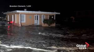 Hurricane Isaias hits Carolinas overnight with heavy winds, rain producing storm surges