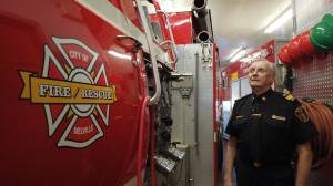 Melville, Sask. man celebrates 50 years of service with volunteer fire department