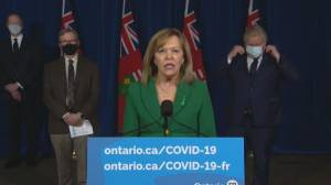 COVID-19: Ontario health minister says no stay-at-home order will be used in updated restrictions (03:36)