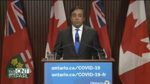 COVID-19: Ontario outlines vaccine passport documentation, QR code system (06:46)