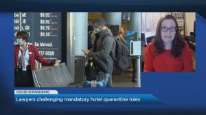 Civil Liberty groups criticize federal mandatory hotel quarantine rules (04:07)