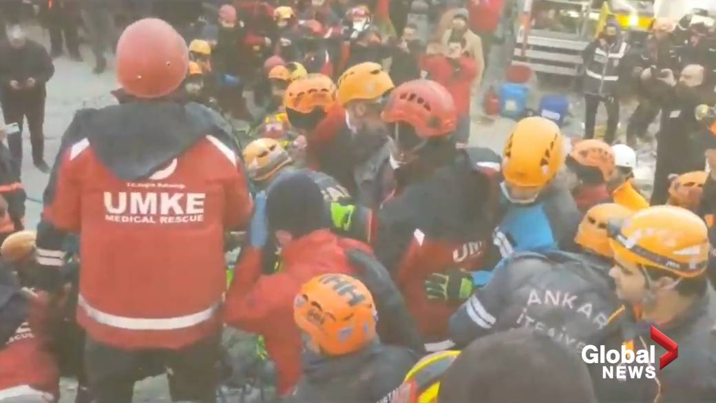 Death toll rises to 35 as Turkish crews continue search for earthquake survivors