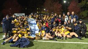 Queen's Gaels beat Guelph to win the OUA Women's Rugby championship