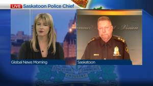 Police chief on supervised consumption site, election priorities (04:12)