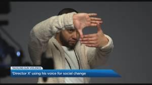 Director X on tackling Toronto's gun violence (04:58)