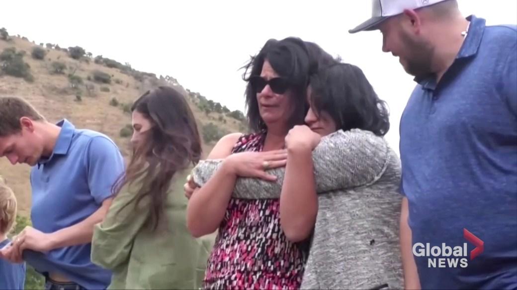Click to play video: 'Ambush victims' families visit Mexico massacre site'