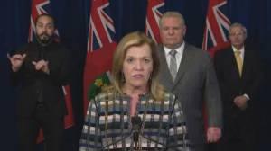 Coronavirus outbreak: Ford says Ontario to see 'turbulent waters' in coming weeks