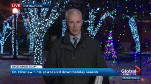 Albertans should prepare for 'much different' holiday season as COVID-19 cases spike: Hinshaw (03:41)