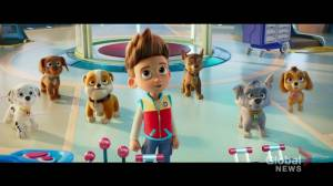 Sherwood Park teen makes debut in 'PAW Patrol: The Movie' opening in theatres this weekend (05:21)