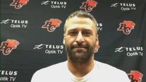 BC Lions QB Michael Reilly on Truth and Reconciliation night at Friday's game (04:16)