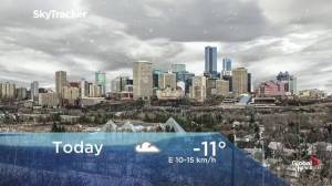 Edmonton early morning weather forecast: Thursday, December 12, 2019