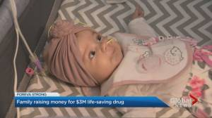 Ontario family hopes to raise $2.8 million for drug to treat sick daughter