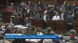Ontario MPPs return to Queen's Park