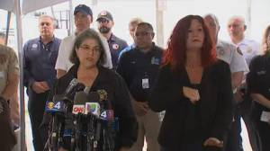 8 more bodies found at site of Surfside building collapse, transitioning to recovery effort (05:40)