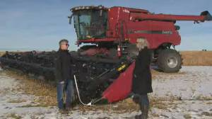 "Canadian farmers facing ""harvest from hell"""