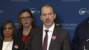OSSTF president says Lecce 'does not bargain in good faith', will go ahead with 1-day strike if no deal