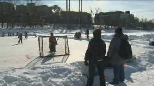 Ringette on the River event takes over The Forks