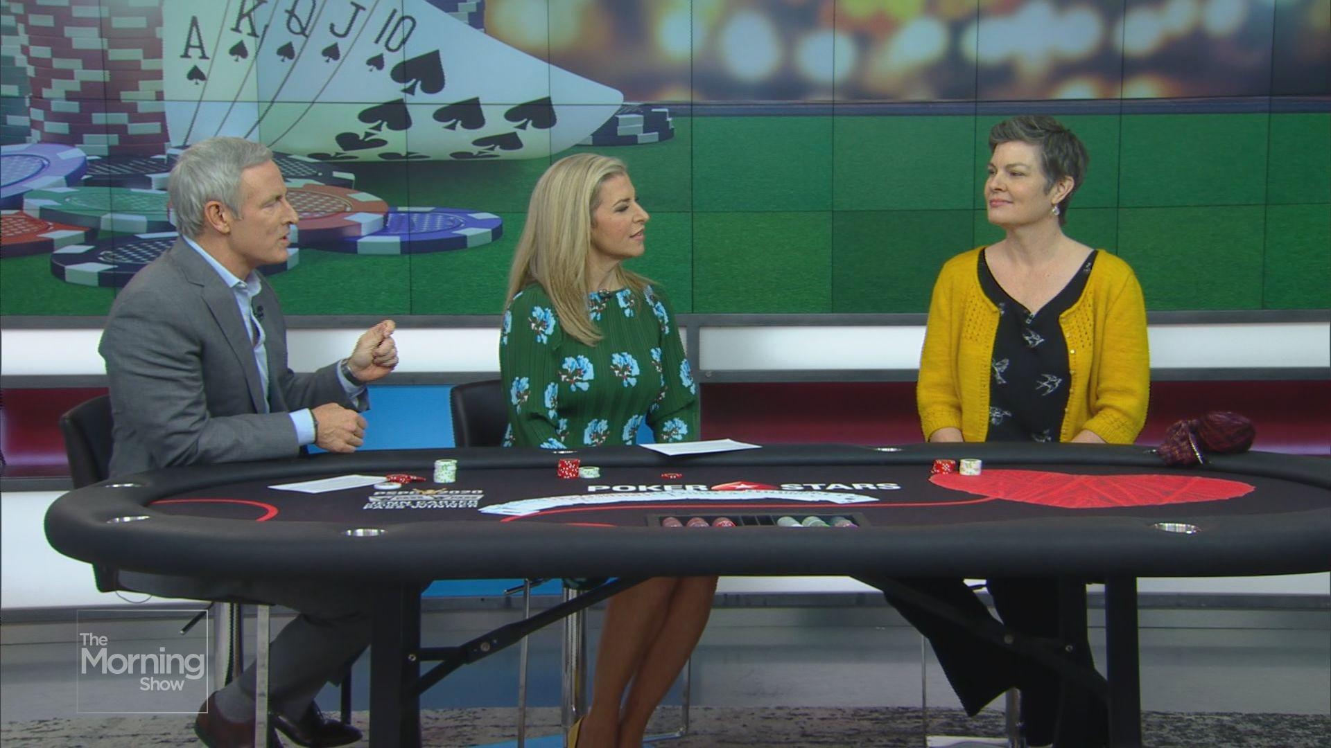 Poker star Jennifer Carter shares tips on perfecting your 'poker face'